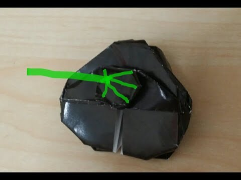 How To Fold Origami Star Wars Death Star Youtube
