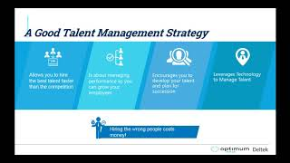 We've heard about the war for talent but how do you win talent? well starters, retain your employees! help them develop their skills to be su...