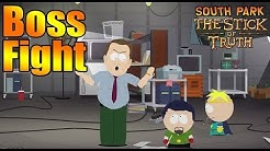 South Park The Stick of Truth Al Gore Boss Fight