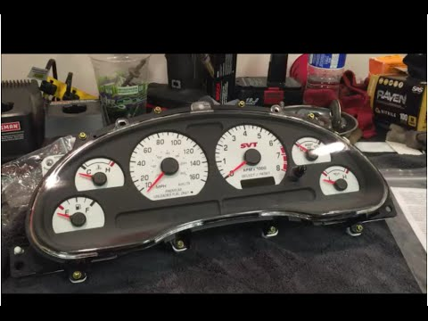 How To Remove The Gauge Cluster/instrument Panel: 1994-2004  Ford Mustang Cobra, Mach 1, GT, V6