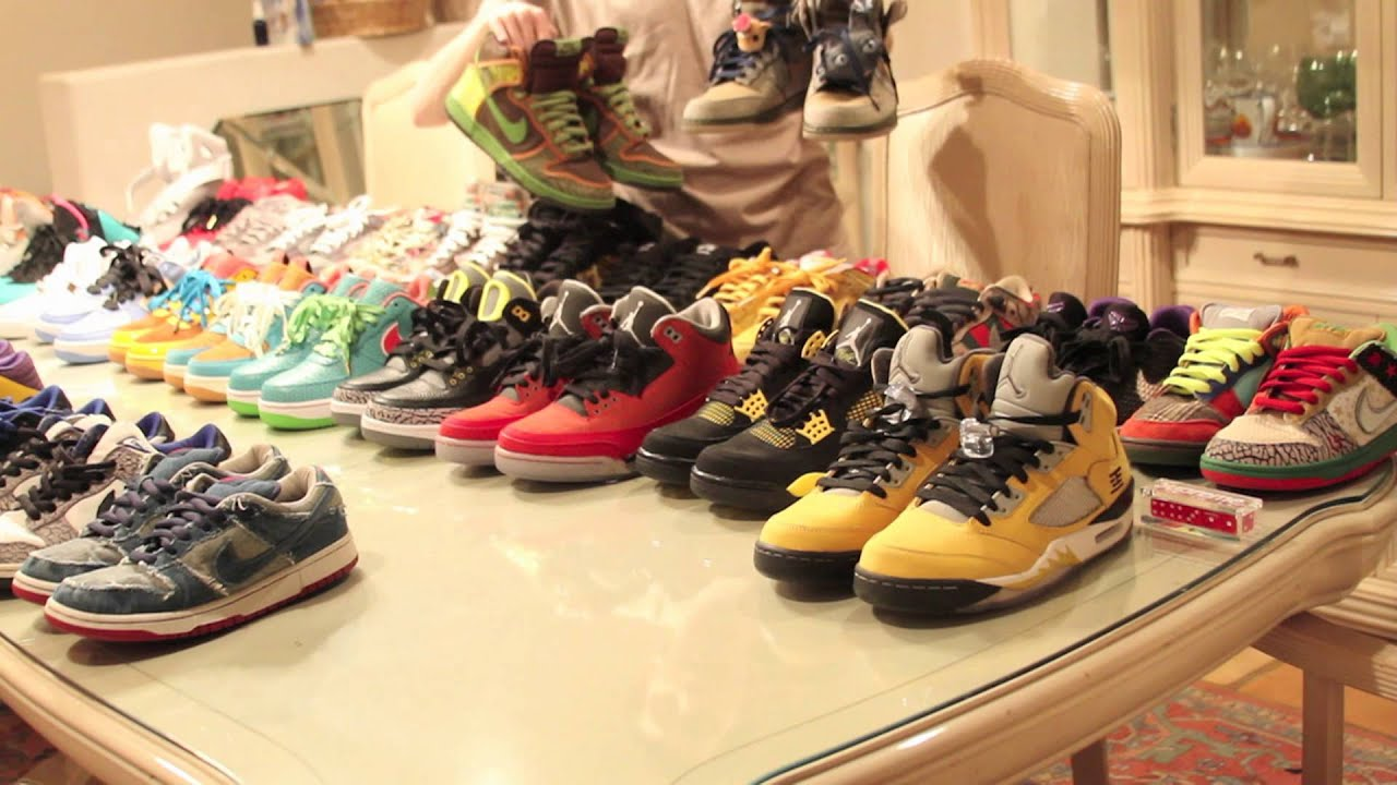 Jordan Shoe Collection Youtube