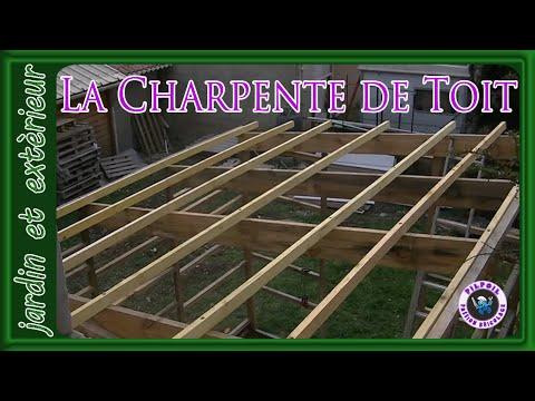 cabanon de chantier part 6 la charpente de toit