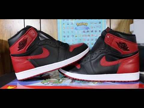 best sneakers 21181 41994 How To Check If Your 2016 Jordan 1 Bred Banned Are Real Or Fake!