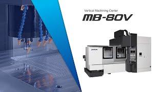 Mold Base/Vertical Machining Center MB-80V【OKUMA CORPORATION JAPAN】