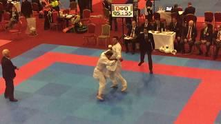 Team Scotland vs Team USA WUKF World karate championships 2016 Dublin