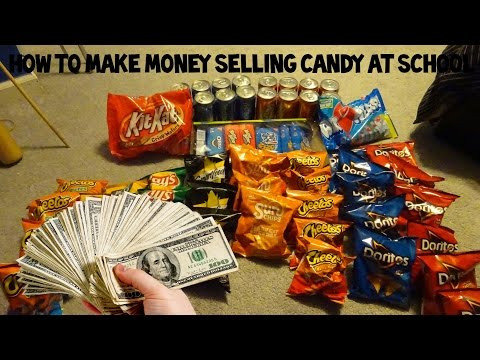 HOW TO SELL CANDY AT SCHOOL! MAKE MONEY FAST! 2019!
