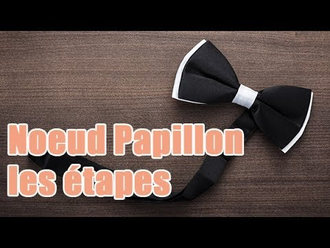 faire un noeud papillon les tapes youtube. Black Bedroom Furniture Sets. Home Design Ideas
