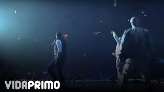 Jowell y Randy - Loco (Remix) Ft. Wisin y Yandel Cantando [Live]