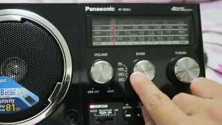 เครื่องเล่นวิทยุ MP3 Panasonic RF-800U คุ้มราคา