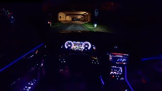 2019 Audi A6 Avant S-Line Pov Night Drive Ambient Lighting By Autotopnl