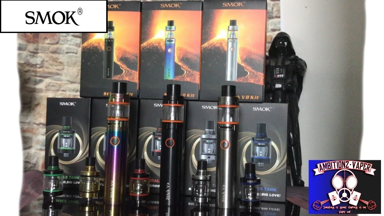 Smok Stick V8 Kit The Spirals Tank Review Low Wattage Great