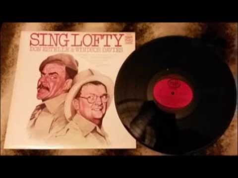 Don Estelle and Windsor Davies Sing Lofty Full Vinyl