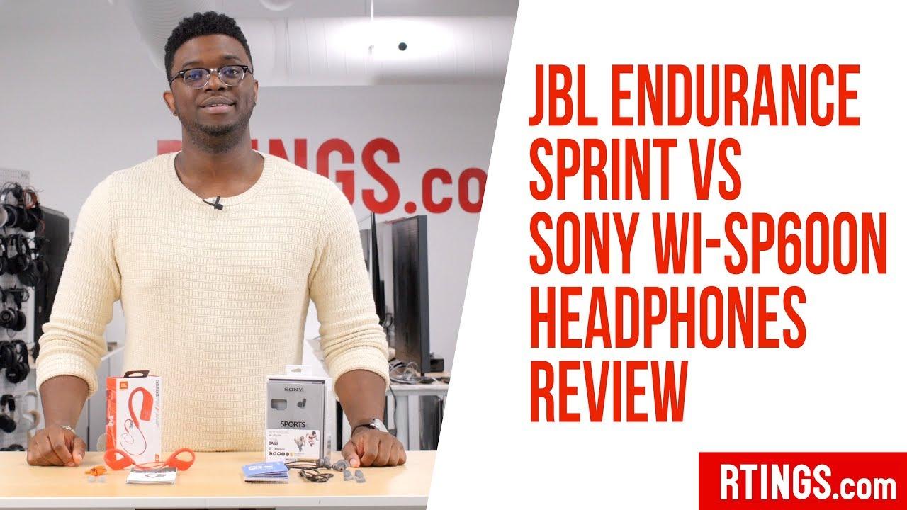 Jbl Endurance Sprint Vs Sony Wi Sp600n Headphones Review Rtings Com Youtube