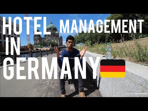 MASTERS IN HOTEL MANAGEMENT FROM GERMANY