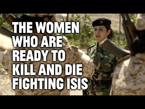 Meet the Female Peshmerga Fighters Battling ISIS
