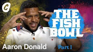 NFL Football Star & Rams Aaron Donald in the Fish Bowl | Chalk Media