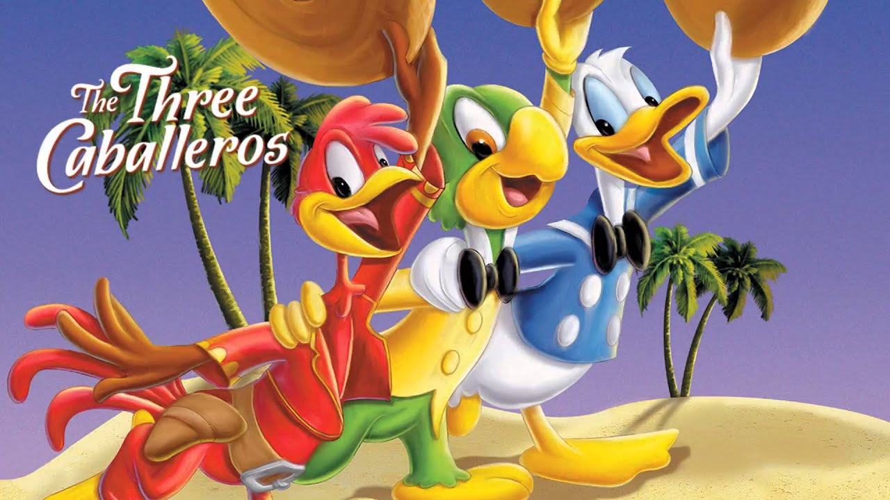 Image result for the three caballeros