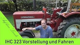IHC 323 Traktor Vorstellung und Fahren