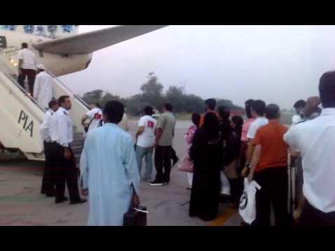 Ground view at Multan