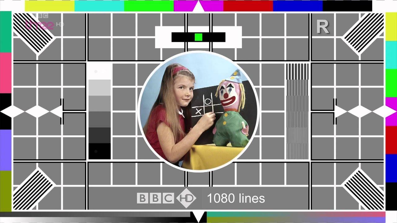 BBC Three HD Testcard