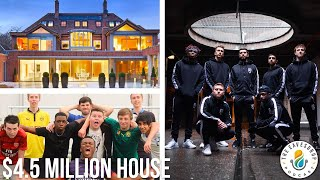 SIDEMEN'S TEAM HOUSE (THE EARLY DAYS STORIES)