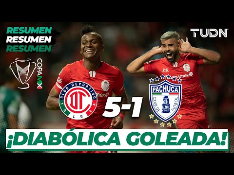 Toluca Pachuca Goals And Highlights