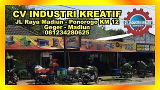 Video Welcome to CV Industri Kreatif ( Industri Mesin UKM Madiun ) download MP3, 3GP, MP4, WEBM, AVI, FLV November 2018