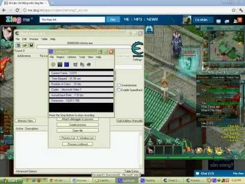 Hack quay thông Võ lâm chi mộng update 6/1/2012