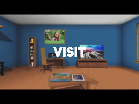 rooom.com - the next generation social network - 2D, 3D, VR. Teaser for the virtual reality network
