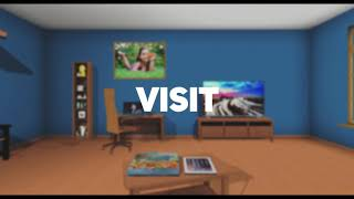 rooom.com - the next generation social network - 2D, 3D, VR. Teaser for the virtual realit ...