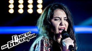 Gambar cover Мария Величкова – I'd Rather Go Blind | Кастинги на тъмно | Гласът на България 2019