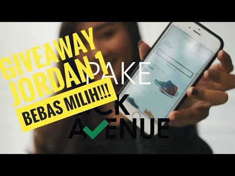 BELI SNEAKER MURAH PAKE WEBSITE LOCAL KICKAVENUE VS INSTAGRAM + GIVEAWAY JORDAN 1 BEBAS MILIH