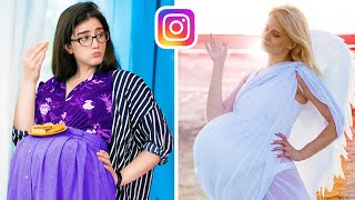 Instagram vs Realtà / Insta Mom vs Real Mom