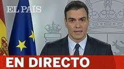 DIRECTO #CORONAVIRUS   Declaración del PRESIDENTE del Gobierno, PEDRO SÁNCHEZ