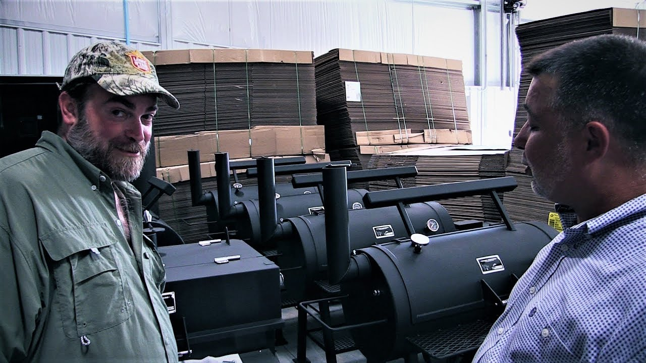 Tour of Yoder Smokers Manufacturing Plant