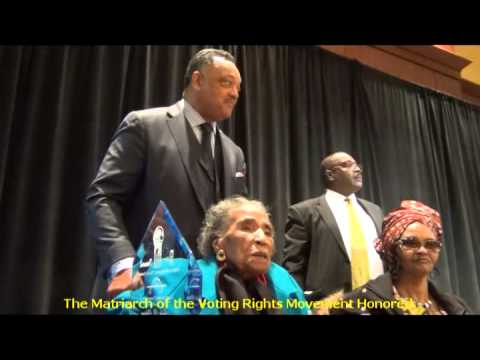 Amelia Boynton Robinson Honored by Calhoun Foundation