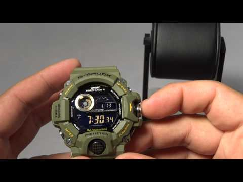 CASIO G-SHOCK REVIEW PROS AND CONS ON GW-9400-3 GREEN RANGEMAN