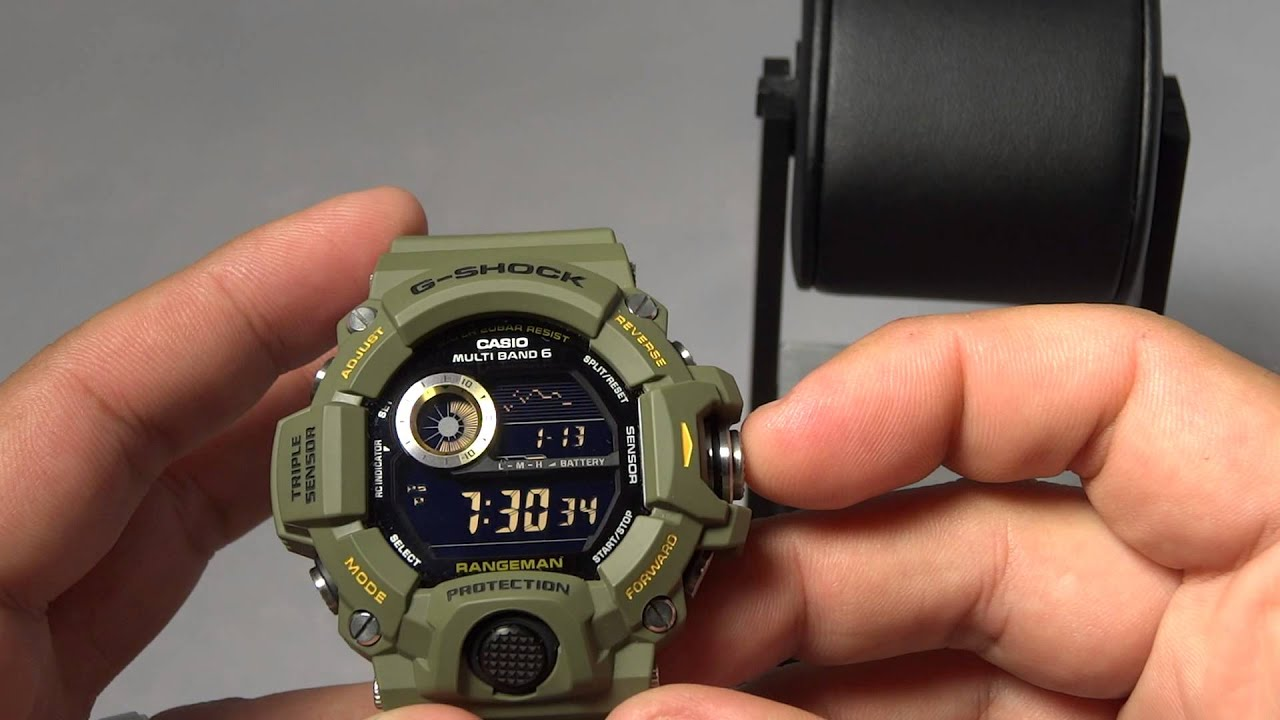 G Cons Casio Rangeman Pros On Green 3 And Review Gw Shock 9400 TKJcul1F3