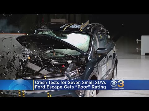 Crash Tests: Ford Escape Gets 'Poor' Rating