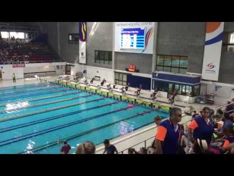 9yo Koda Wins Silver In His 50m Freestyle State Sprint Championships