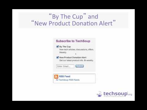 Blue Shield Webinar - Getting the Most from TechSoup and the