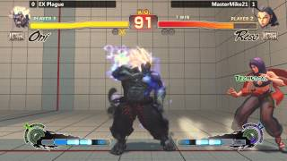 Usf4 @ Nlbc #103 - Ex Plague (oni) Vs Mastermike21 (rose) [720p/60fps]