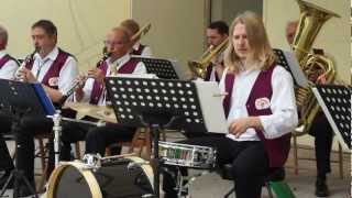 Musikanten spielen auf - Marsch - Lauchaer Musikanten - Brühler Garten Erfurt 2012