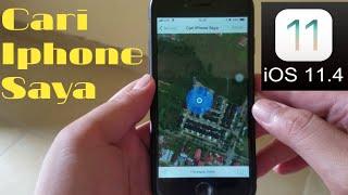 IN  Cara menggunakan find my friend di iPhone.