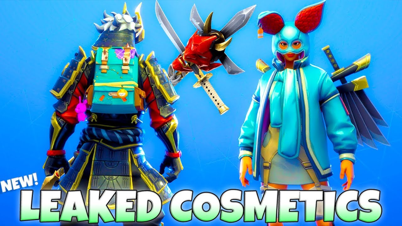 fortnite leaks - oni fortnite skin