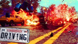 Dangerous Driving Video Game - A New Burnout Game - Gameplay PC HD