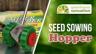 Seed Sowing Hopper - Sow Seeds With Ease