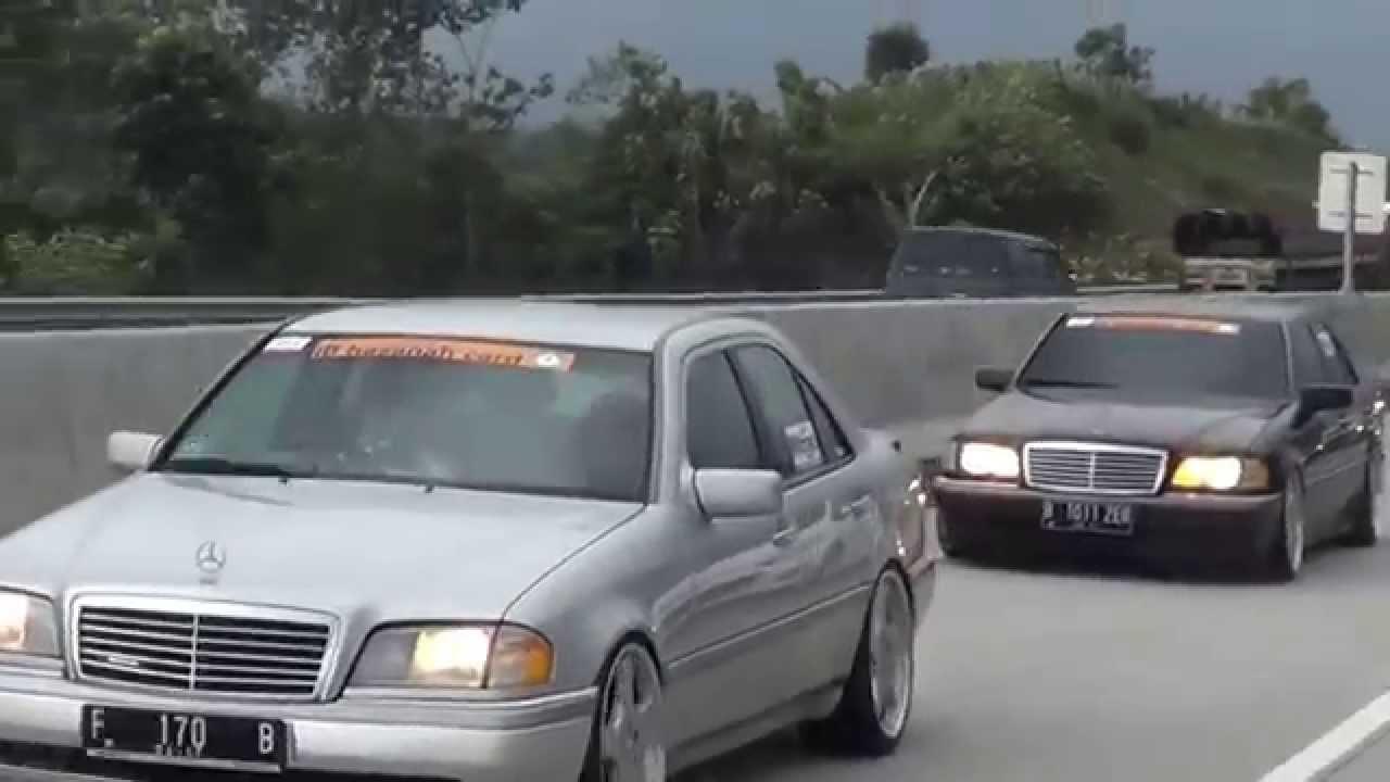 Mercedes Benz W202 Club Indonesia Road Touring To Jamnas Ix Solo