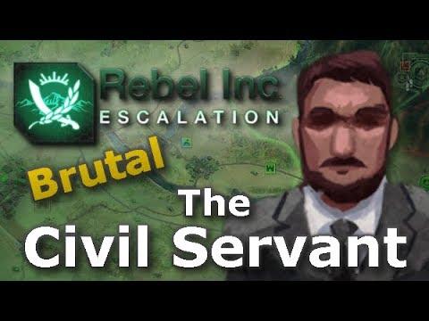 Rebel Inc. Escalation: Brutal Guides - The Civil Servant + Saffron Fields