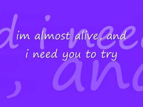 Secondhand Serenade Half Alive w/lyrics
